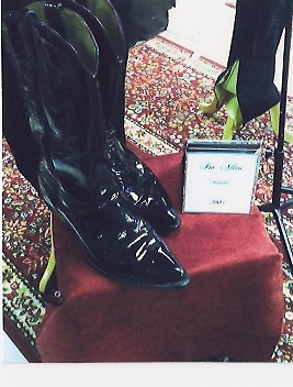 Ira\'s Black Boots in Hall of Fame