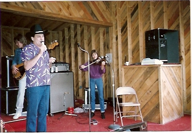 Ron Boley, Holly O'Dell & Ira performing at Giordano's in 1987