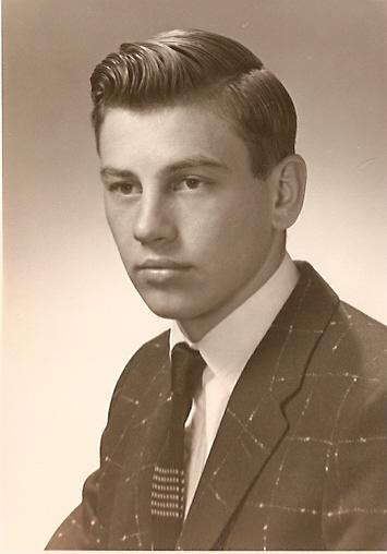 Ira\'s 1956 Senior Pic