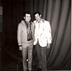 Ira & Freddy Hart 1971 - Spokane, WA at MIA Benefit Show