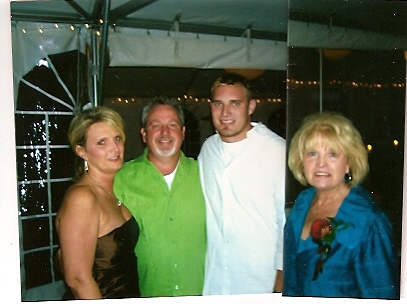 Judi with Daughter Sheri, her husband Joe and their son, Matthew