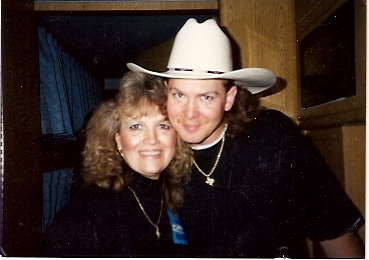 Judi & Tracy Lawrence - he was one of my contestants