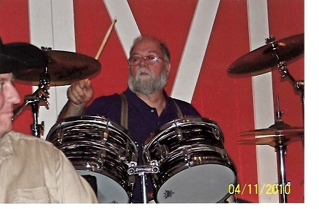 Drummer Michael Young