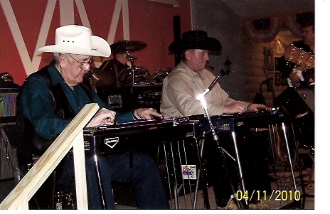 Tommy Thompson & Kevin Carver play twin steels at 2010 Pioneer Show