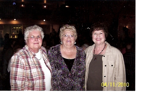 Ira\'s Sister Nancy (in middle) with classmates & friends