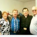Martha & Roland join Ira & Dan Newman backstage