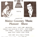Ira and his long time hero - Dick Curless performing in Maine