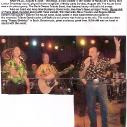 Ira & The Haggar Twins perform for Buck Owens\' 75th Birthday Bash