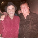 With Don Markum. Sax player for Merle Haggard - Ira & he played with the Ventures in 1959