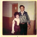 Ida Wilson with Sheb Wooley 5/7/70 at Multnomah County Fair