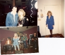 """Judi & Ira in 1989.  Judi going to her radio show.  Jeannie Seely \""""Miss Country Soul\"""" performs at the Tracy Lawrence Benefit in Nashville at the RoseRoom"""