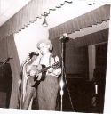Grandpa Jones performs at the McCord Air Force Base in Tacoma, Wash in 1969